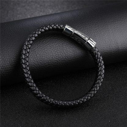 Leather Bracelet Sword