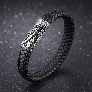 Leather Bracelet Sword