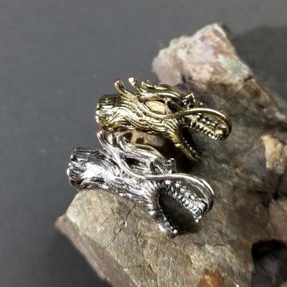 Dragon Paracord Bead Gold