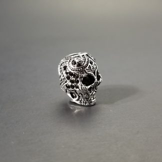 Silver Scull Decorative