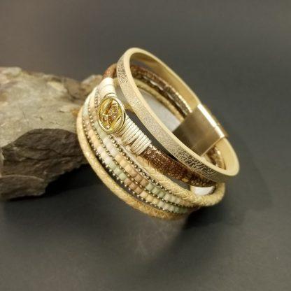 Bohemian Gold Wrap