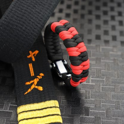Black Belt with Stripes