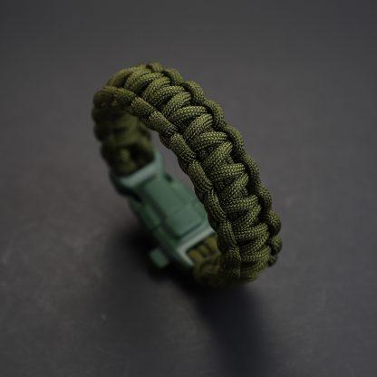 Mil Spec Green Camo Bracelet