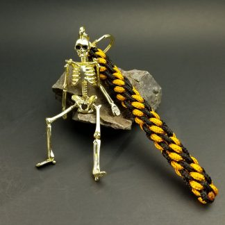 Gold Skeleton Key Fob